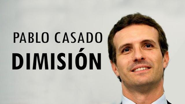 """Pablo Casado descarta dimitir: """"Hace diez años yo no era nada"""""""