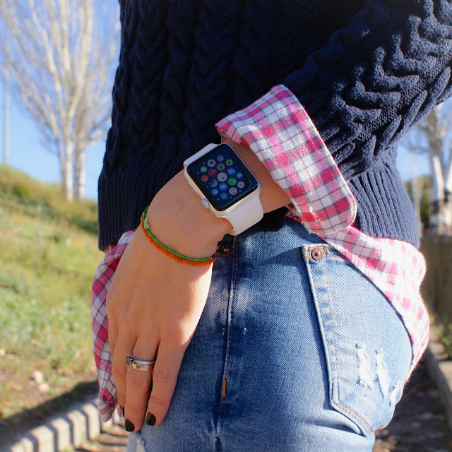 LOOK Invierno, Casual, NIke FREE, Apple Watch Sport