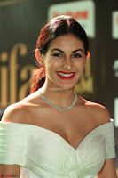 Amyra Dastur in White Deep neck Top and Black Skirt ~  Exclusive 028.JPG