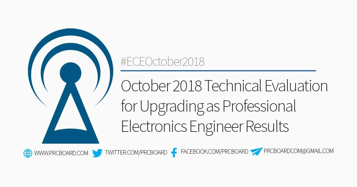 October 2018 Technical Evaluation for Upgrading as Professional