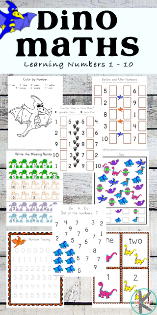 new free dinosaur math worksheets. Black Bedroom Furniture Sets. Home Design Ideas