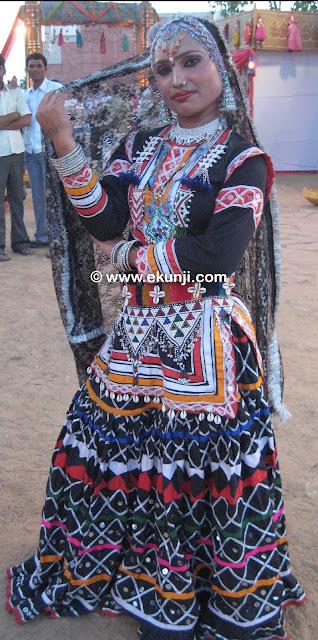 Rajasthani Folk Costume Rajasthani Traditional Dress How