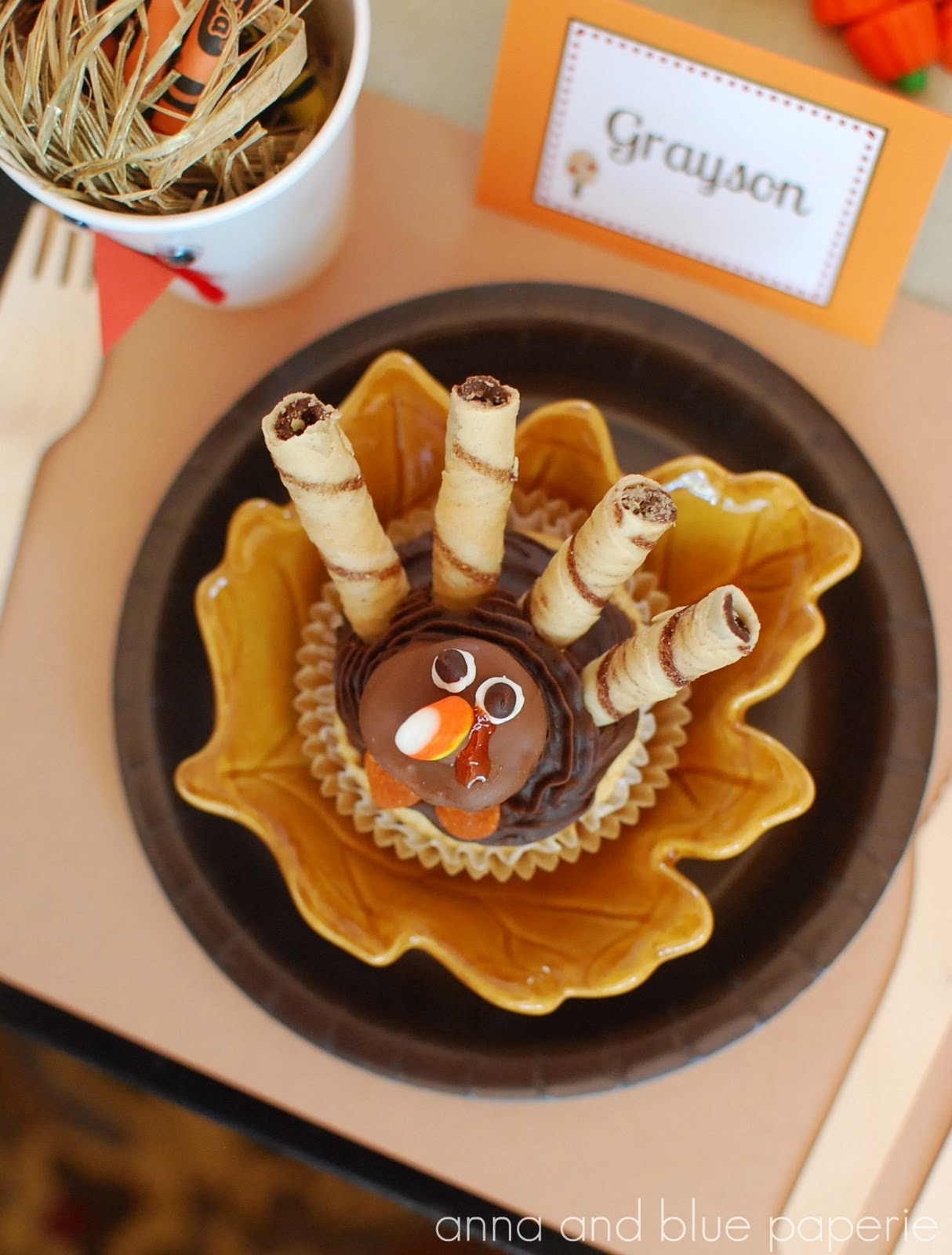 Cute Food For Kids?: 30 Edible Turkey Craft Ideas For