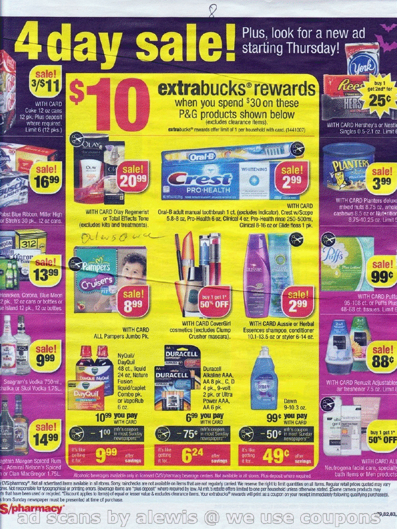 Simply CVS: CVS Ad Scan Preview for the Week of 10/28/2012