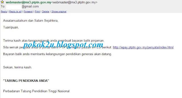 Bayar Hutang PTPTN Dengan Jobdirumah