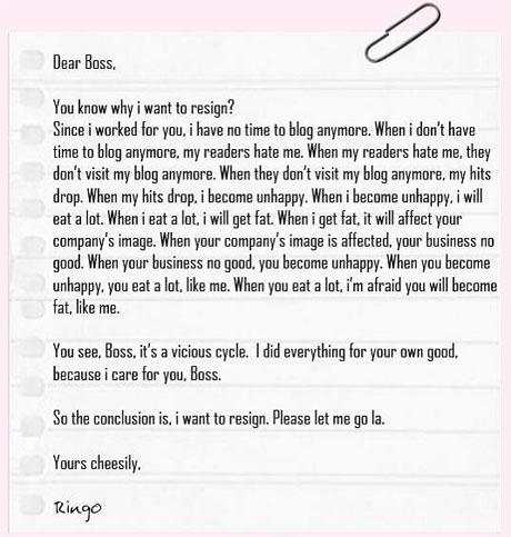 Resignation Letter Template Heartfelt – Heartfelt Resignation Letters