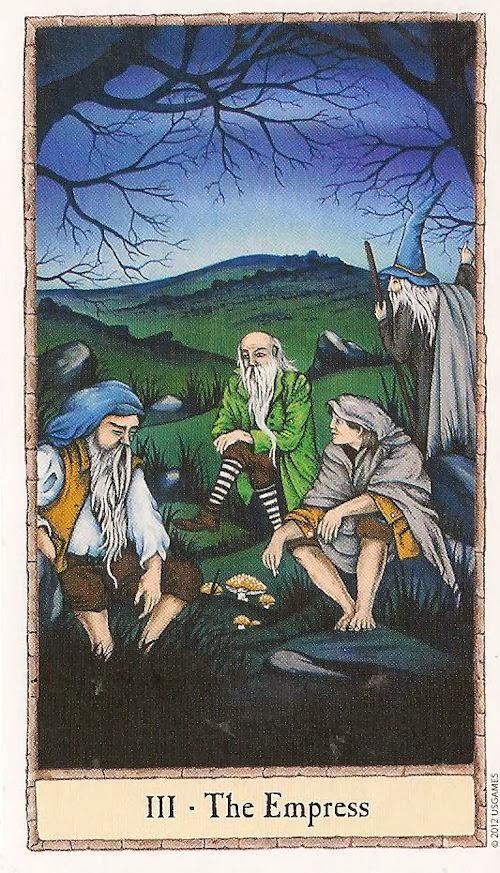 Tarot Notes: The Ring Of Gollum Spread
