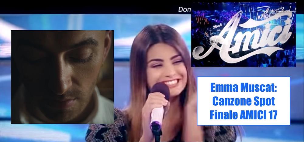 Canzone Pubblicità Amici 17, Finale 2018
