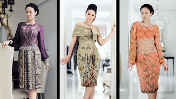 Batik unik model gamis baju modern  Fashion Terkini