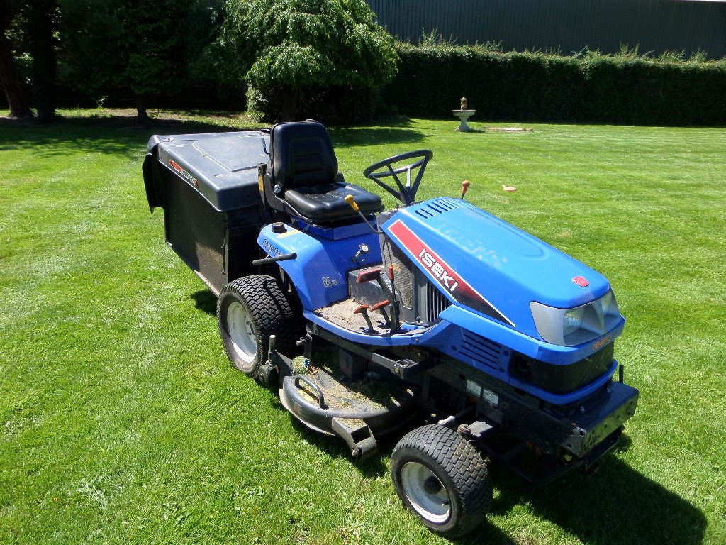 Used Tractors Machinery And Plant Iseki Sxg19 Ride On