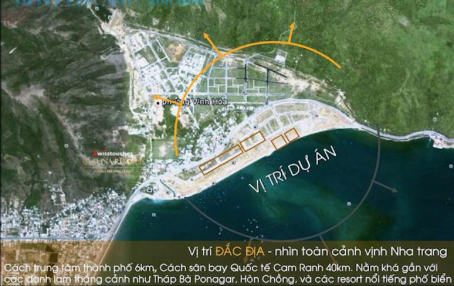 vị trí độc tôn đắc địa của dự án La Luna resort