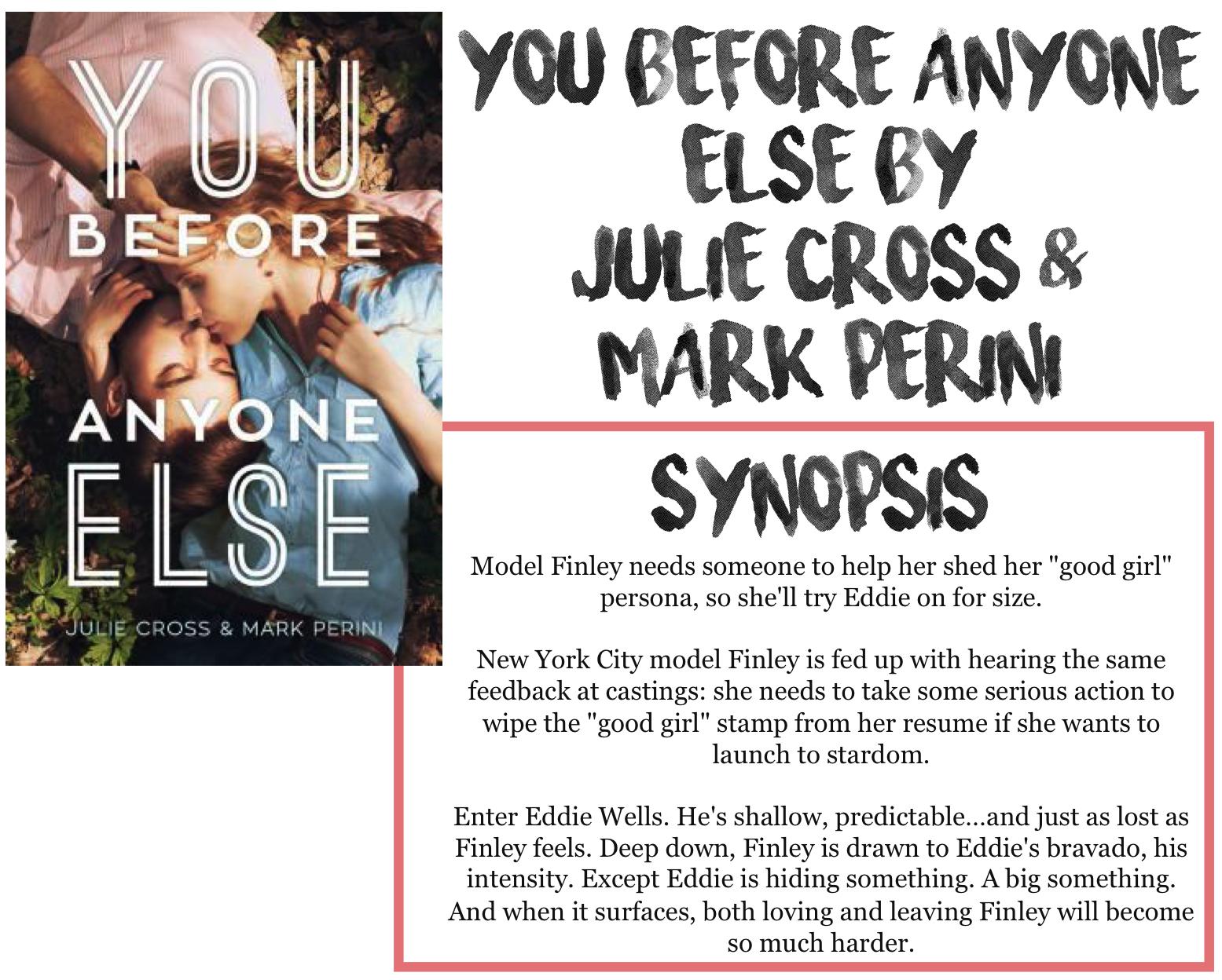 julie cross mark perini book review