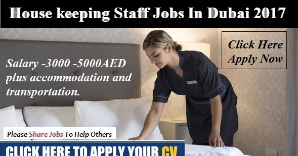 House Keeping Staff Jobs In Dubai 2017 Myjobsuae