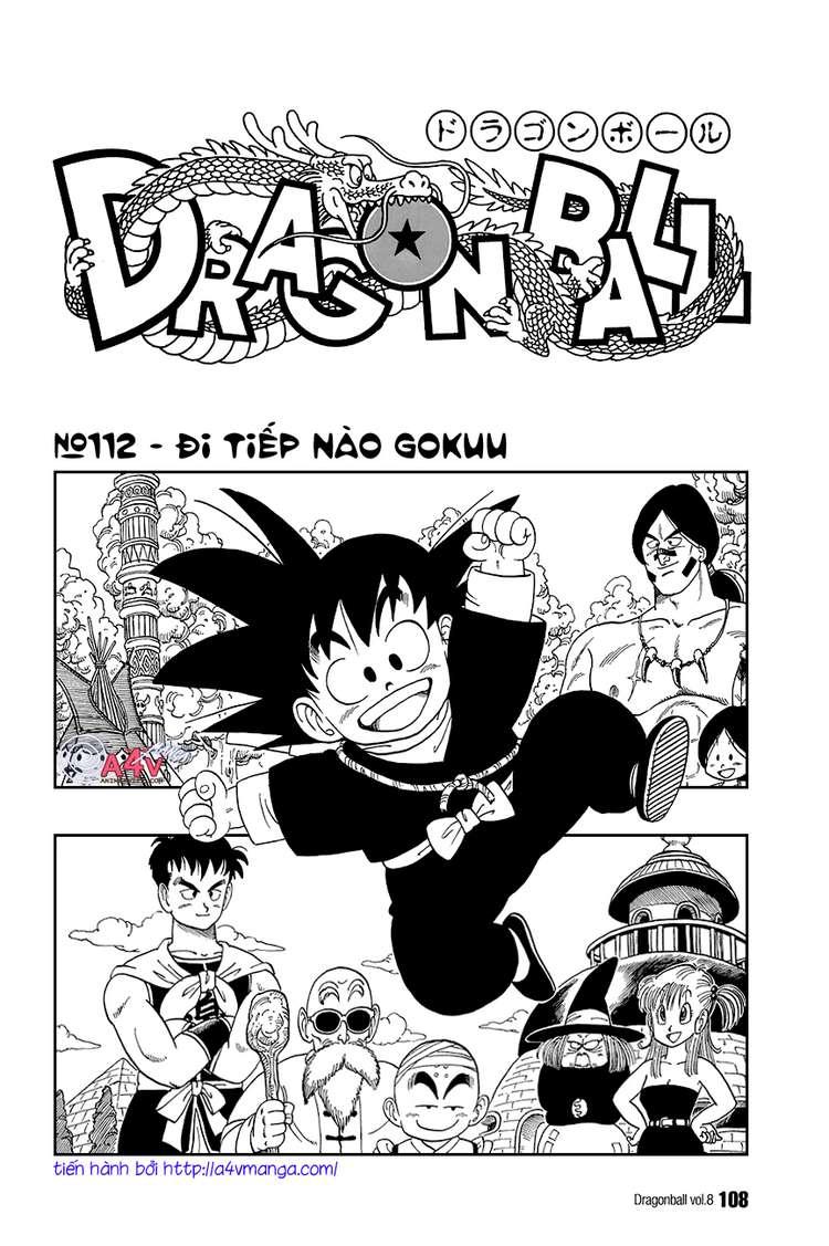 Dragon Ball chap 112 trang 1