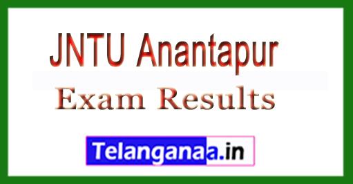 JNTU Anantapur B.Tech Regular Exam Results