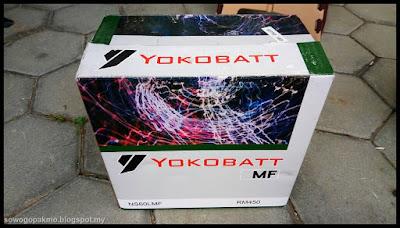 Bateri Yokobatt MF