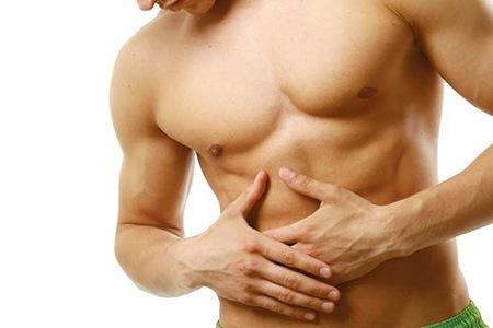 Aumento em um peito de exercício e dieta