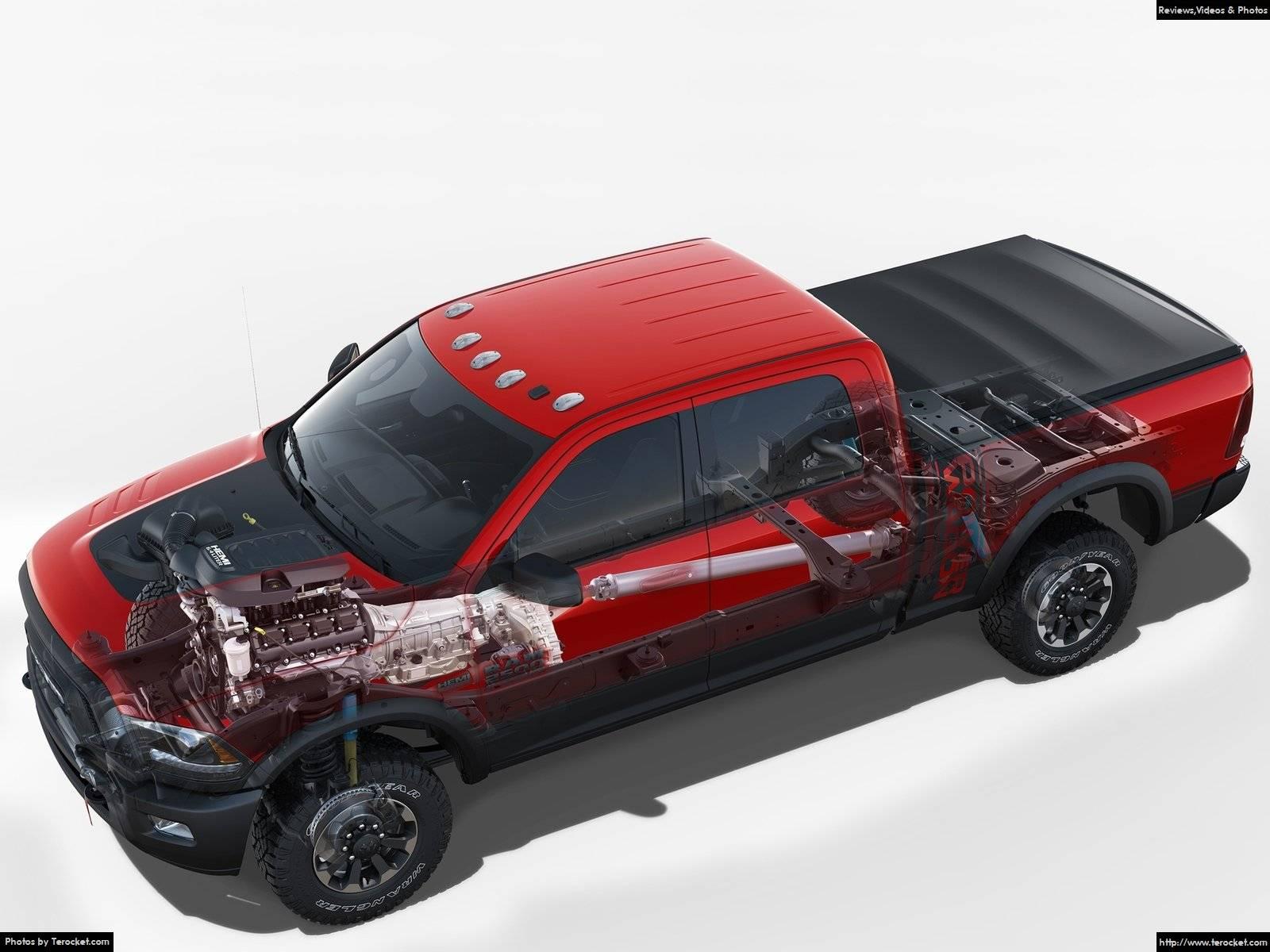 Hình ảnh xe ô tô Ram Power Wagon 2017 & nội ngoại thất