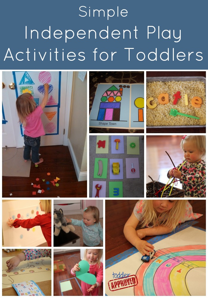 Toddler Approved Simple Independent Play Activities For Toddlers