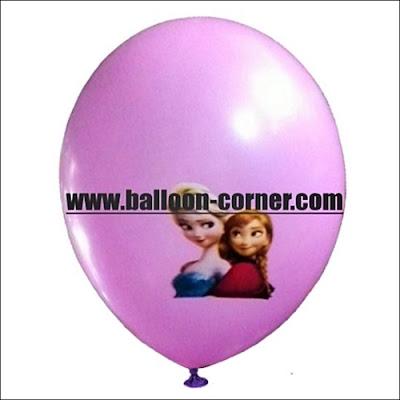 Balon Latex Print Motif KARAKTER