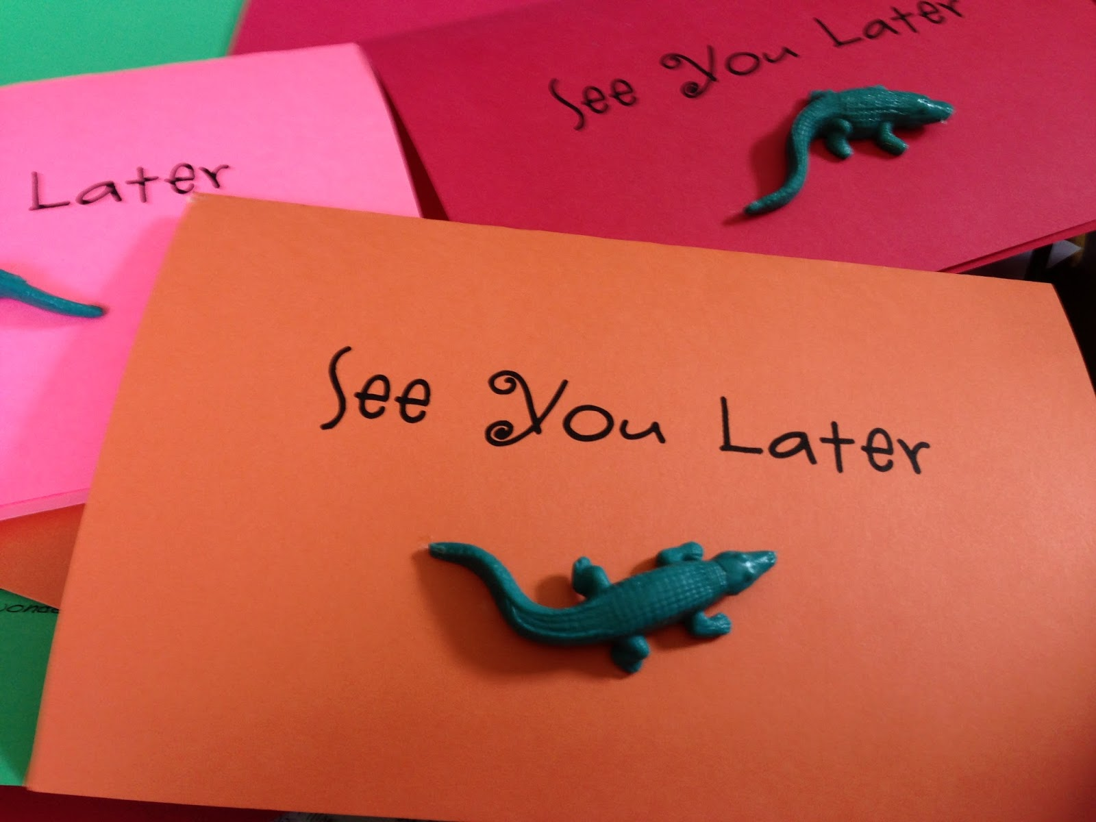 Mrs Goff S Pre K Tales See You Later Alligator