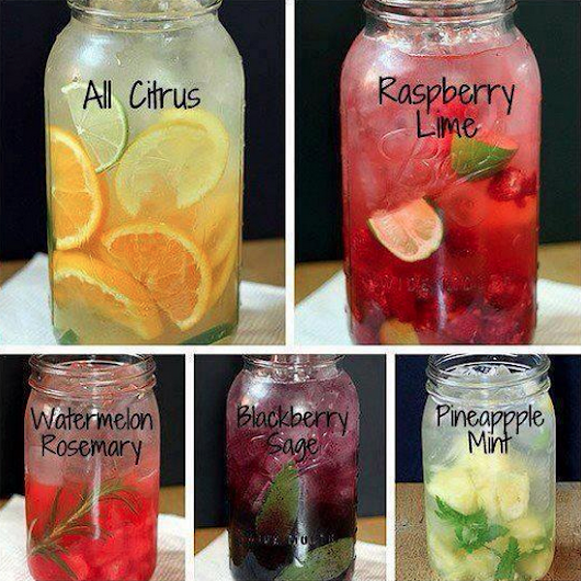 Spring Detox: Flavored Water Recipes