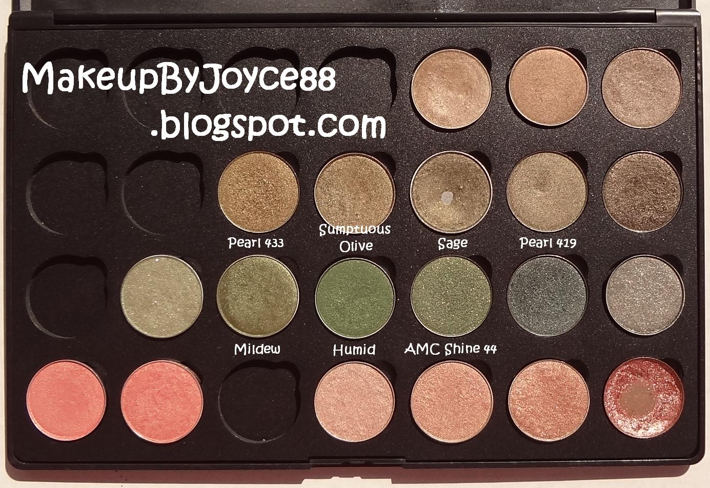 indossare dovere Remissione  ❤ MakeupByJoyce ❤** !: Eyeshadow Swatches & Comparisons: Inglot ...