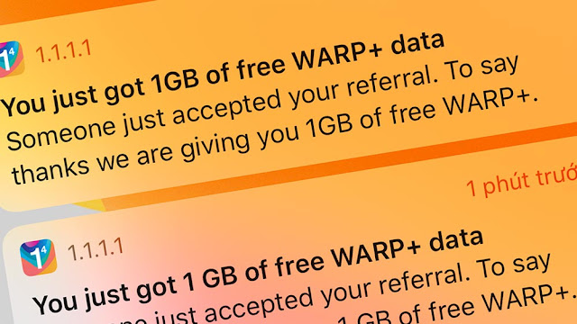 Data Warp+ VPN linkthuthuat