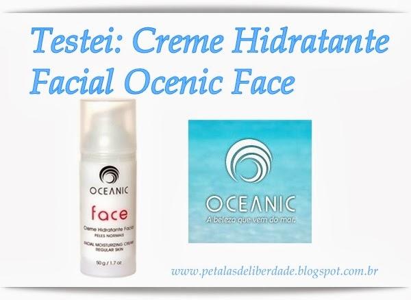 Creme Hidratante Facial Oceanic peles normais