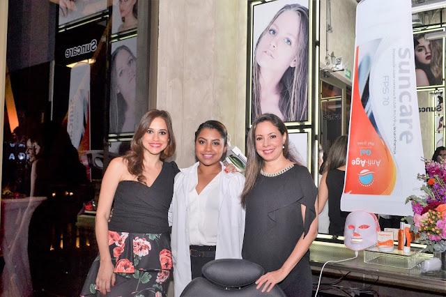 Suncare auspició inauguración de la renovada escuela y estudio de maquillaje de Andrea Navarrete