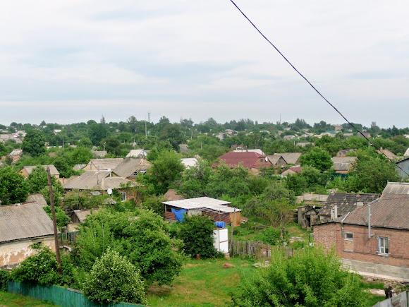 Константиновка. Частный сектор жилого района Старая деревня