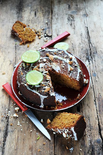La polenta et moi le début d'une grande histoire? Mon cake sans gluten à la polenta aux amandes et aux citrons...