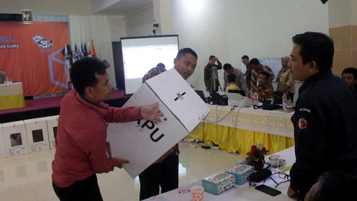 KPU Kabupaten Batang Gelar Rekapitulasi Hasil Penghitungan Perolehan Suara Pemilu 2019