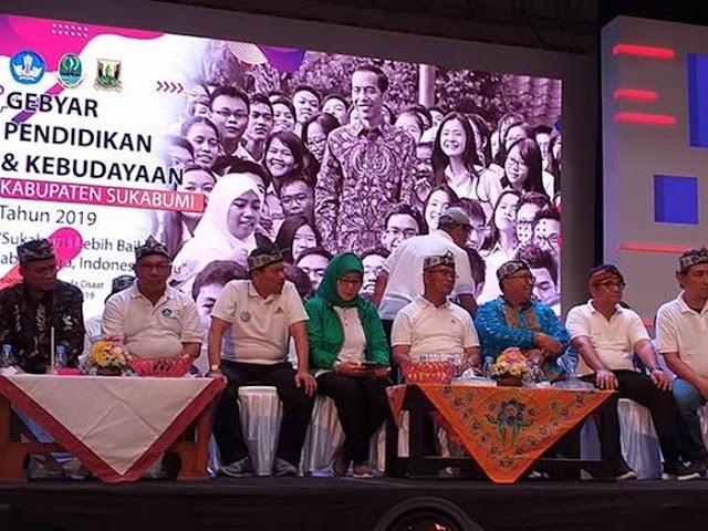 Dua Ribu Lebih Peserta Ramaikan Gebyar Pendidikan dan Kebudayaan 2019 di Sukabumi