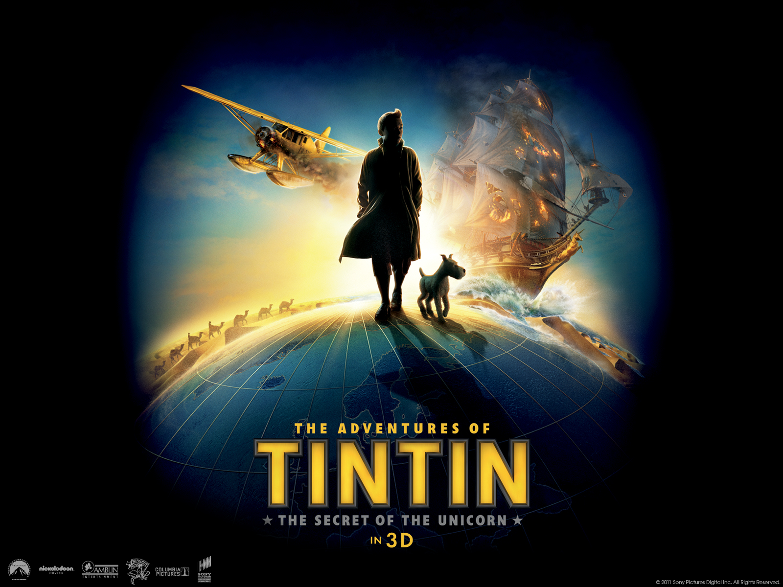 The Adventures Of Tintin Posters Hd Wallpapers Hd
