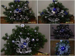 Dekorace na Vánoce