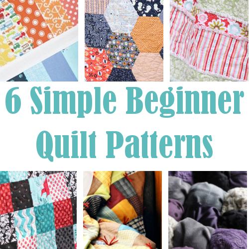 Diy Home Sweet Home 6 Simple Beginner Quilt Patterns