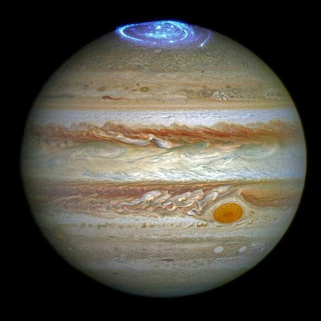 Полярне сяйво на планеті Юпітер
