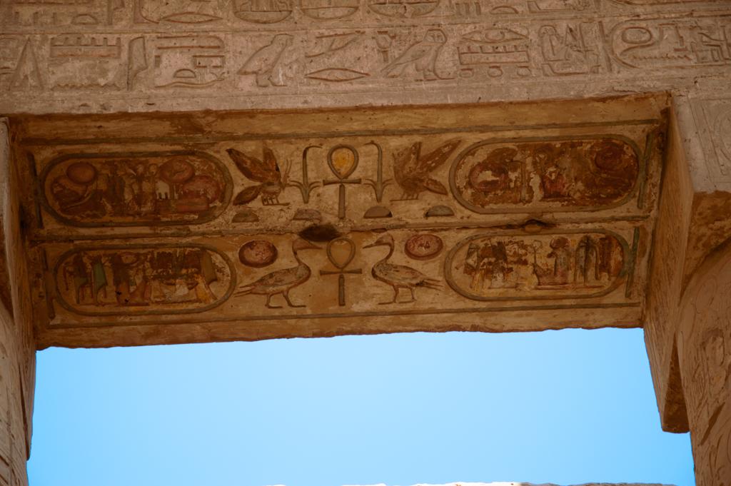 Роспись в Карнакском храме