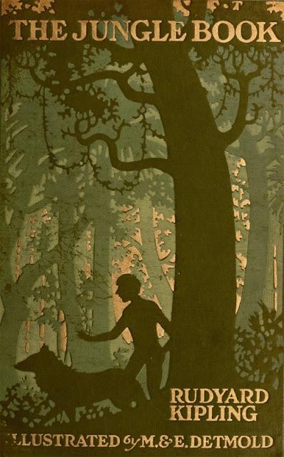 Portada de El Libro de la Selva ilustrada por M.&E.Detmold