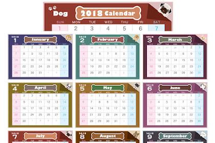 2018カレンダー1