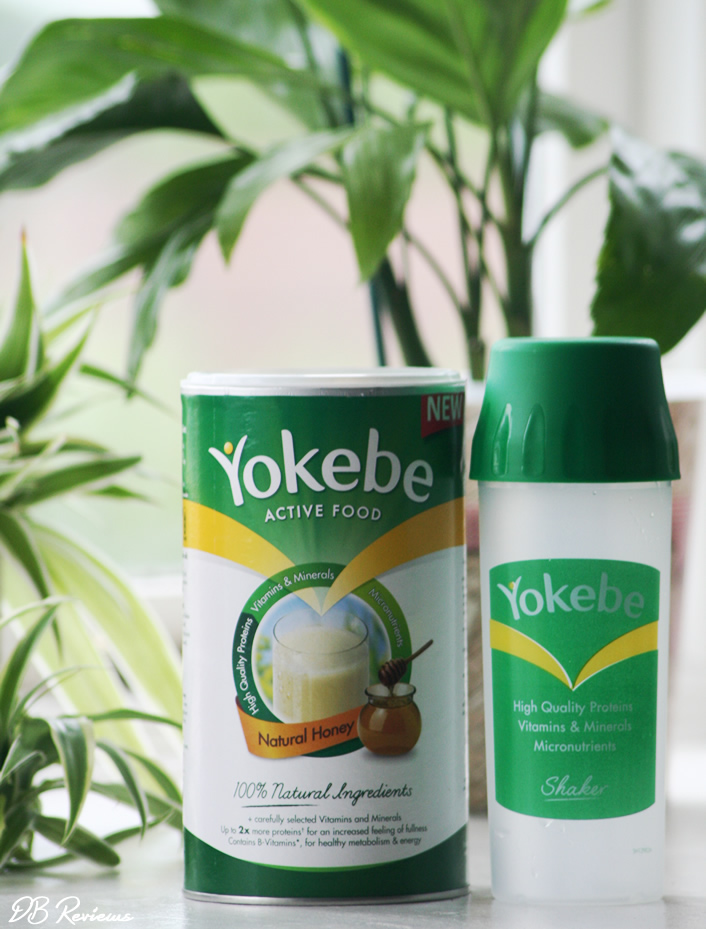Yokebe Meal Replacement Shake with High Levels of Protein