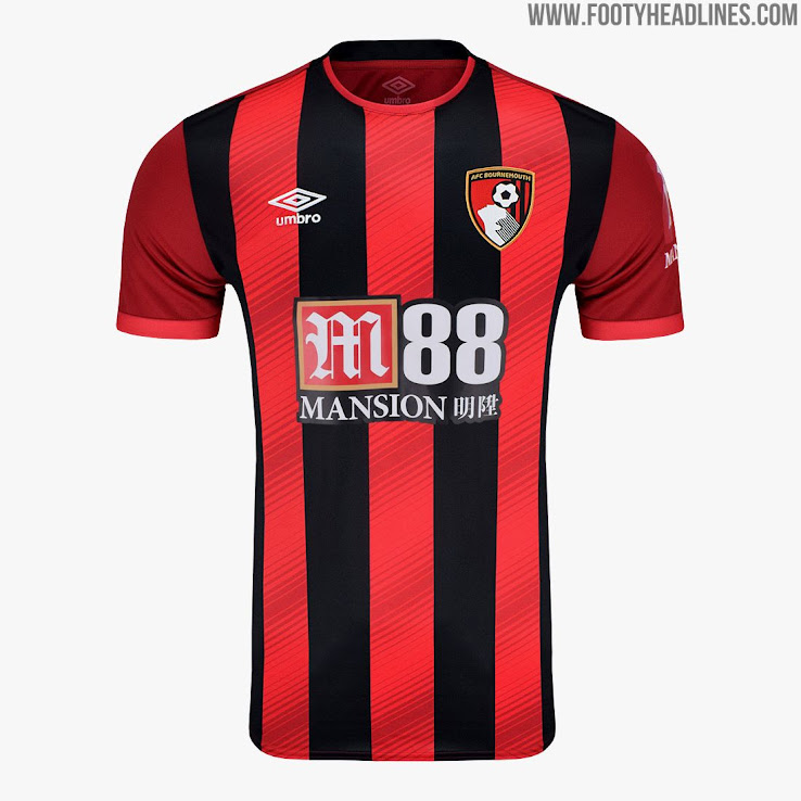 557ab17c4 Bournemouth 19-20 Home Kit Revealed - Footy Headlines