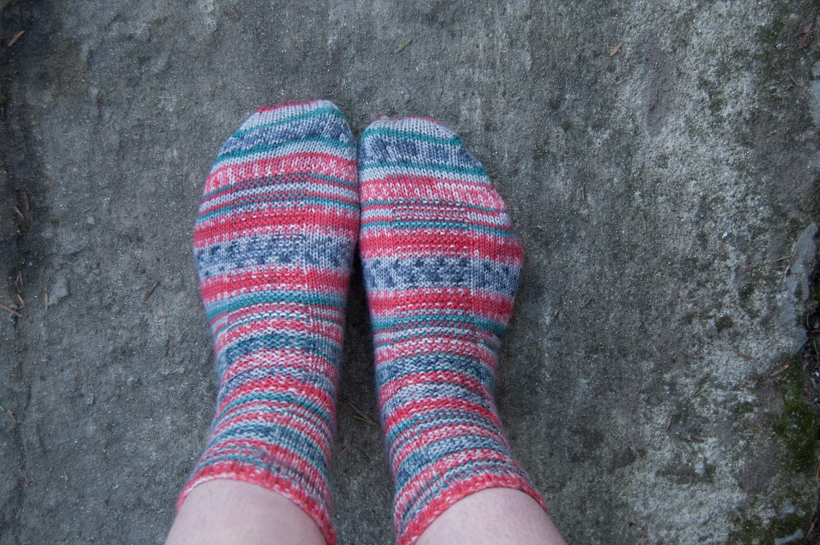 1 month, 2 pairs of socks  | My Red Wellies