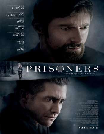 Poster Of Prisoners In Dual Audio Hindi English 300MB Compressed Small Size Pc Movie Free Download Only At worldfree4u.com