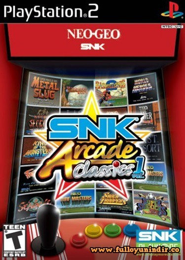 SNK Arcade Classics Volume 1 (PAL) Playstation 2 Tek Link