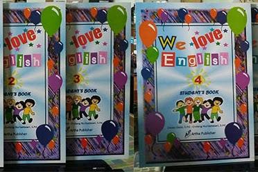 Buku We Love English