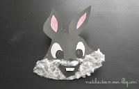 activités manuelles masque lapin
