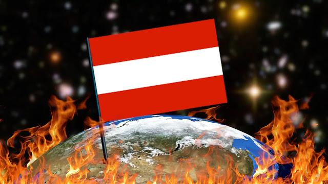 Queimando Bandeiras - Áustria