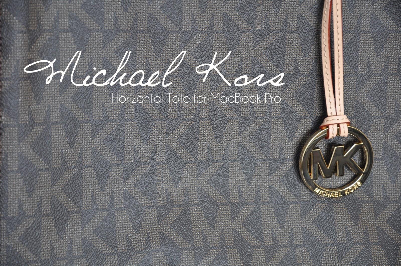 Michael Kors Horizontal Tote for MacBook Pro   Min make-up ...